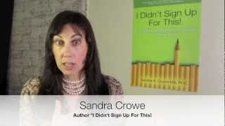 How to Deal with Difficult People | Sandra Crowe Move The Conversation Forward