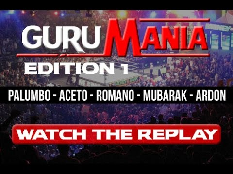 Iron Debate - GURUMANIA Pt 1 - Palumbo / Aceto / Romano / Mubarak / Ardon