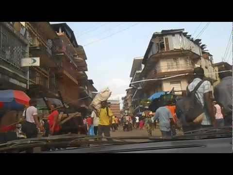 The Streets of Freetown, Sierra Leone