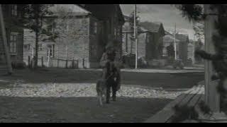 """Фрагменты фильма """"Время летних отпусков"""" снятые в Ухте (1960)"""