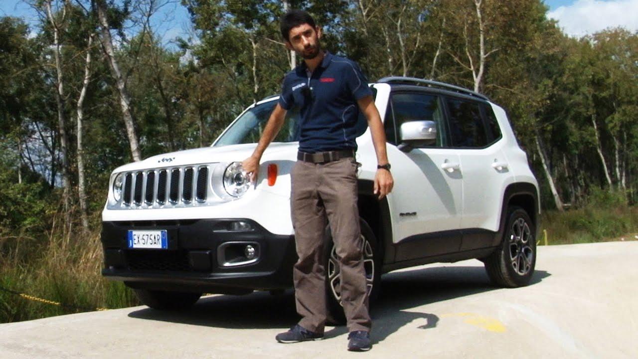 Jeep Renegade Fuoristrada Si Ma Su Strada Anche 2 0 Diesel 140