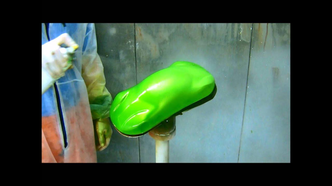 Peinture kawasaki lime green