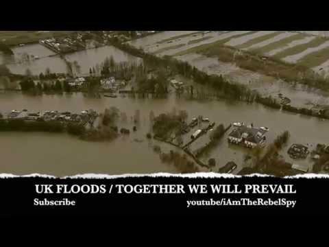 Devastating floods hit the UK  (2014) • Footage Documentary