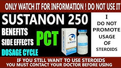 What Is sustanon 250 In hindi  | how to use sustanon 250 | Benefits, side effects, Pct Of sustanon