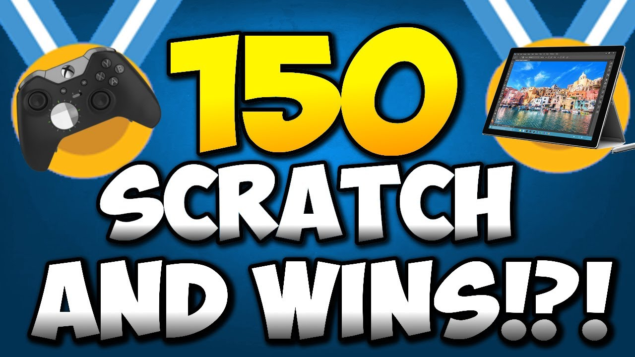 I SPENT 15,000 MICROSOFT REWARD POINTS ON SCRATCH AND WIN! 😂