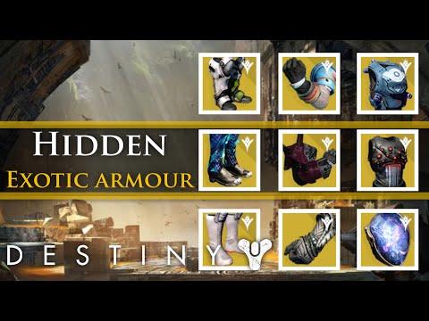 Destiny - 9 Hidden pieces of exotic armor in the Taken King