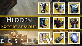 One of My name is Byf's most viewed videos: Destiny - 9 Hidden pieces of exotic armor in the Taken King
