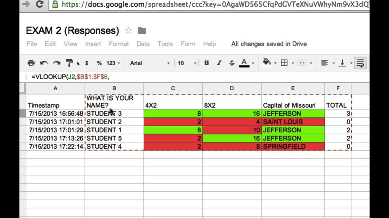 4 How To Use The Vlookup Function To Organize Grades In Spreadsheets