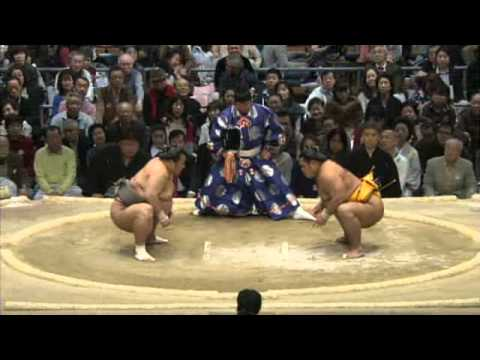 Sumo : Haru basho 2013 d'Osaka - première journée