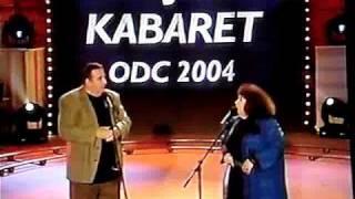 Smieszny Skecz Krzysztof Kowalewski i Zofia Merle.  K jak Kabaret.