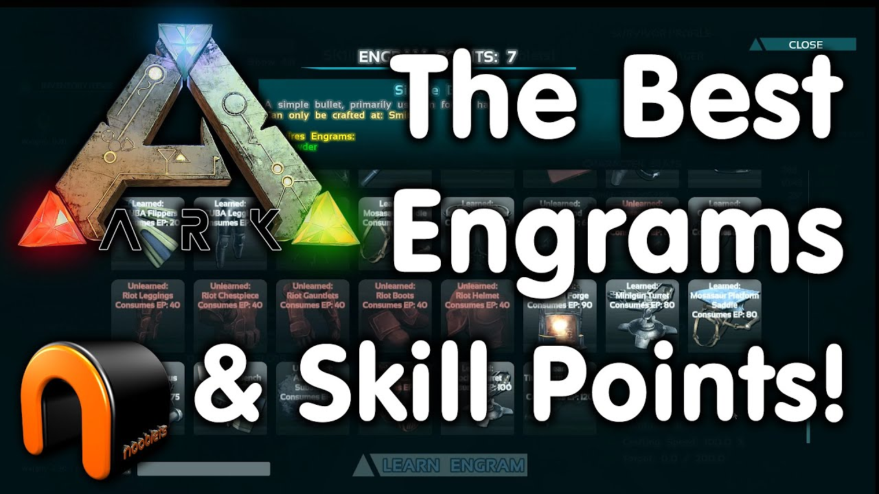 Ark survival evolved which are the best engrams skill points to ark survival evolved which are the best engrams skill points to choose youtube malvernweather Images