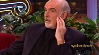 SEAN CONNERY - AUDIENCE QUESTIONS on 'LENO'