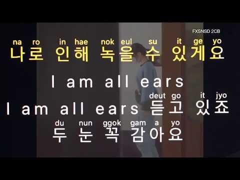 [KARAOKE] Taeyeon - I'm all ears [태연 - 겨울나무]