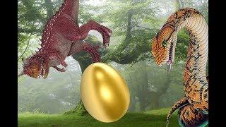 КАРНОТАВРЫ и ЗОЛОТОЕ ЯЙЦО. Динозавры и змеи. Мультики про динозавров на русском языке
