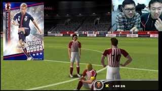 ワールドサッカーコレクションSをkazuendと遊ぶ!