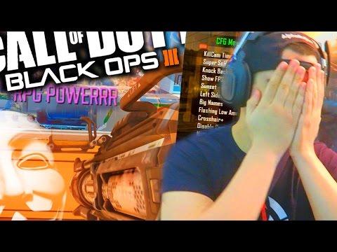 1 VS 1 con HACKS ALEATORIOS en BLACK OPS 3 - AlphaSniper97