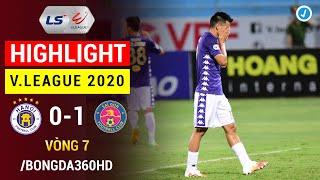 Highlight   Hà Nội vs Sài Gòn   Vòng 7 V.League 2020   Quang Hải ngồi ngoài, HN nhận gáo nước lạnh