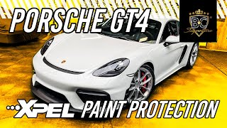 Porsche Cayman 718 GT4 XPEL Paint Protection