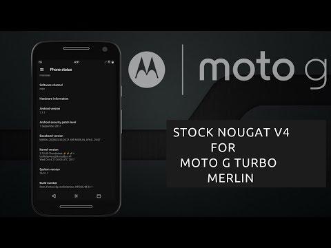 EOL][MERLIN][PORT][V4][7 1 1] Stock Rom For… | Moto G 2015