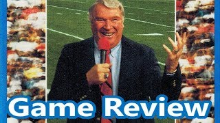 John Madden Football 92 Sega Genesis Review - The No Swear Gamer Ep 513