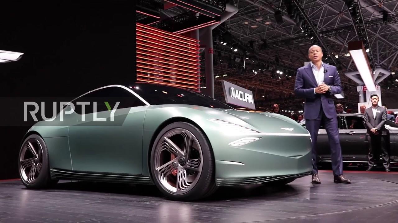 usa genesis reveals its mint ev concept at new york auto show youtube usa genesis reveals its mint ev concept at new york auto show