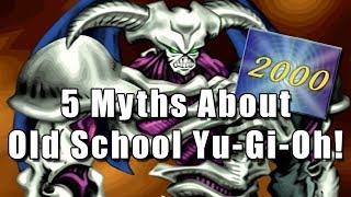 5 Myths About Old School Yu-Gi-Oh!
