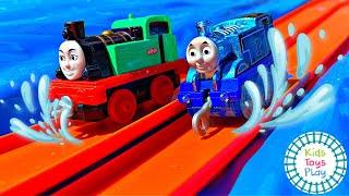 Thomas and Friends Mystery Wheel Slip 'n Slide Races
