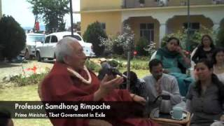 Samdhong Rimpoche: Thoughts on Swaraj