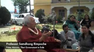 Samdhong Rimpoche: Thoughts on Swaraj