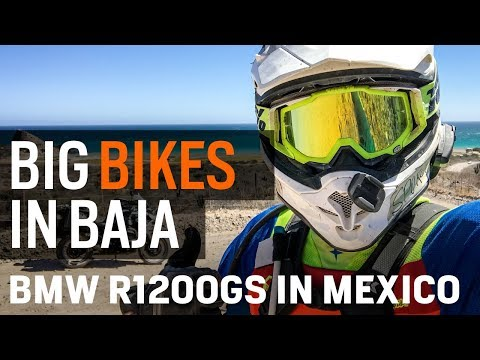 Big Bikes in Baja - BMW R1200GS in Mexico at RevZilla.com