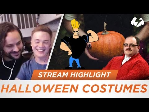 Reynad Searches For A Halloween Costume...