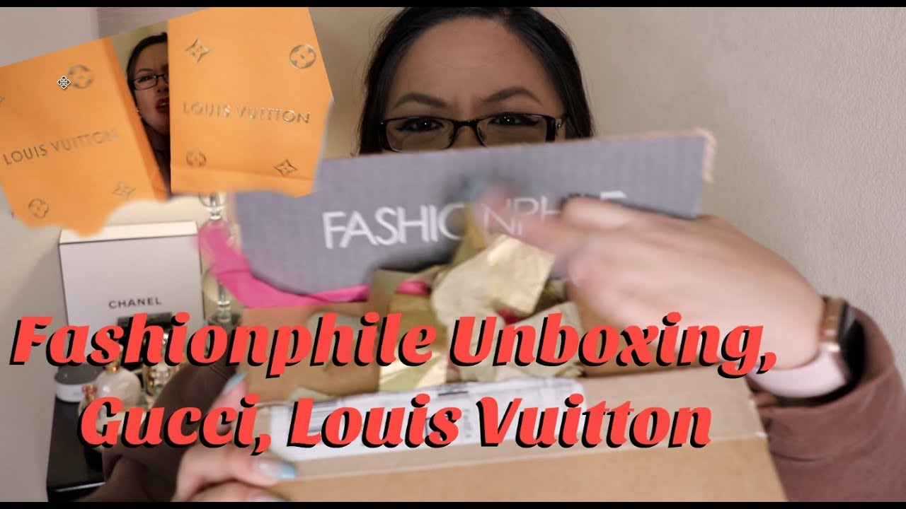 29ea94973c8572 Fashionphile unboxing, Gucci, Louis Vuitton Haul, Make up, Selling ...