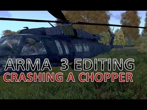 ArmA 3 Mission Editing : Making A Helicopter Crash