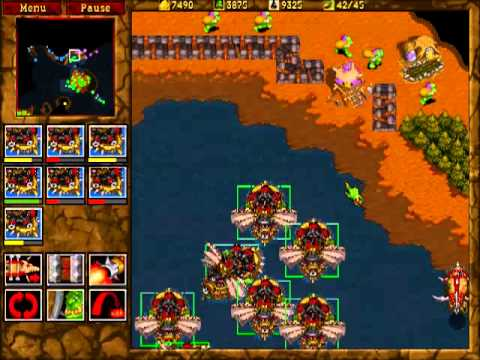 Warcraft 2: Tides of Darkness - Orc Campaign Gameplay - Miss