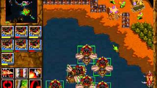 Warcraft 2: Tides of Darkness - Orc Campaign Gameplay - Mission 12