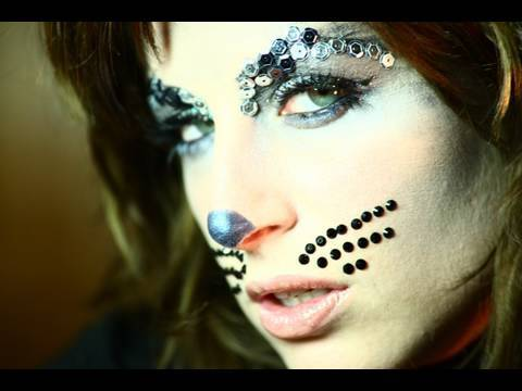 Trucco Halloween Catwoman.Tutorial Trucco Di Halloween