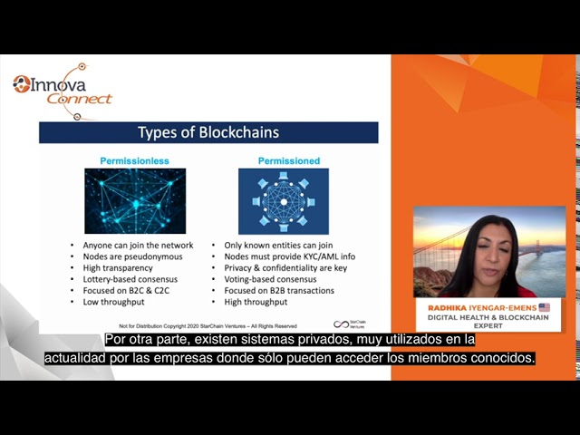 InnovaConnect: Radhika Iyengar, Digital Health & Blockchain expert