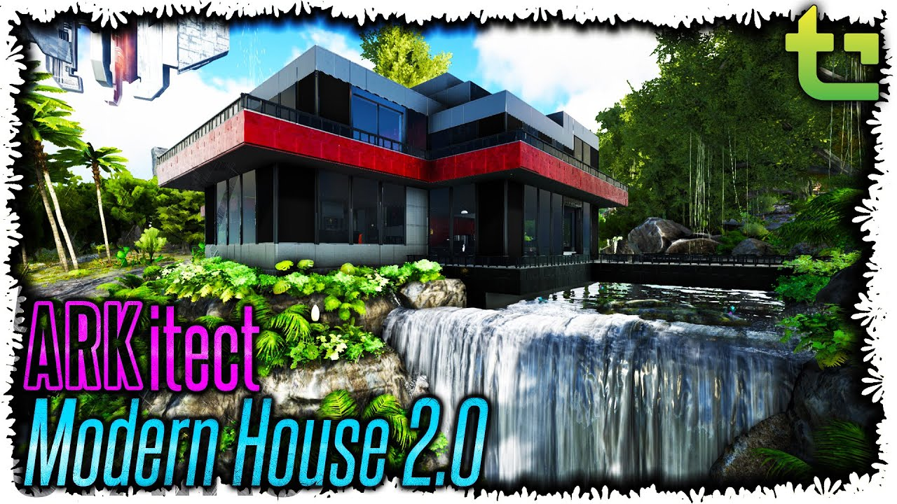 Ark:SE ARKitect 06 || Modern House 2.0 || TimmyCarbine   YouTube