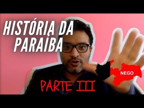 História da Paraíba PMPB 03/03