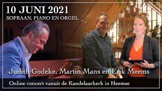 Judith Godeke, Martin Mans en Erik Meems in concert
