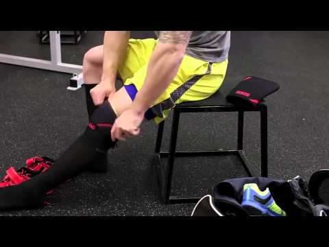 How to put SBD knee sleeves on