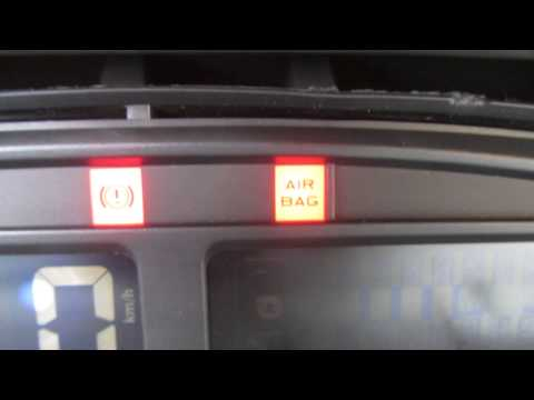 Air Bag Light Flashing (Xsara Picasso)