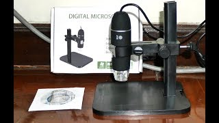 Low Cost Digital Microscope