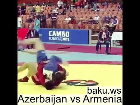 Azerbaijan Vs Armenia Sambo