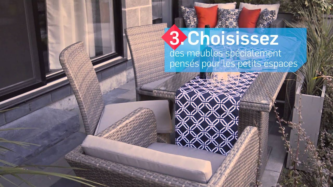 6 conseils pour concevoir votre terrasse condo