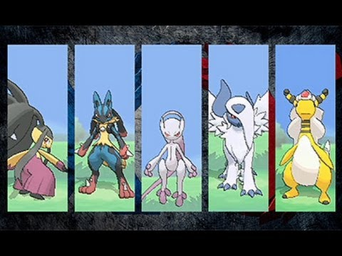 Pokémon X and Pokémon Y: Three New Mega-Evolved Pokémon Revealed!