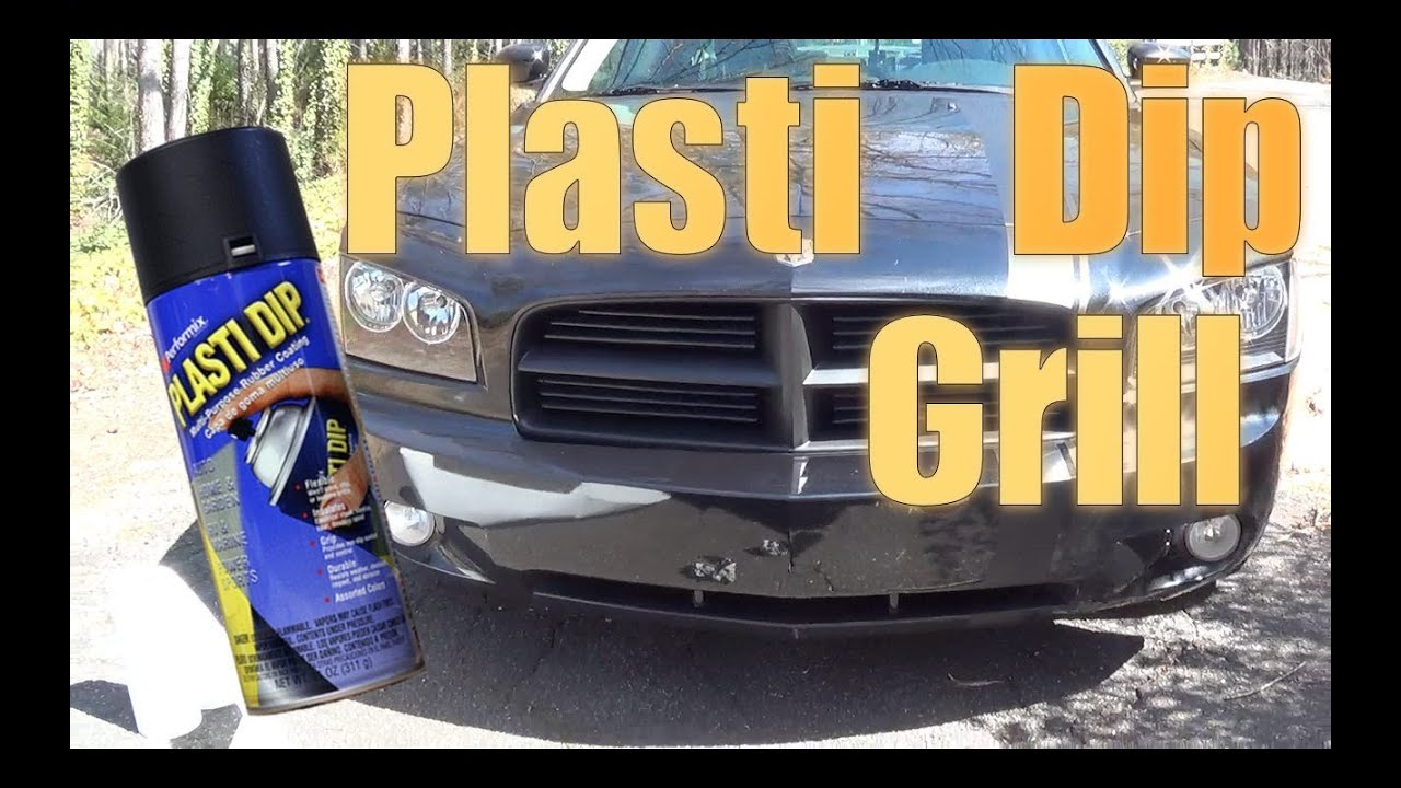 How To: Plasti Dip/ Blackout Your Car Grill!