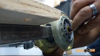 Cheesycam DIY Video Tripod Platform Push Dolly Project