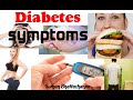 Type 2 diabetes symptoms in men and women | early diabetes signs