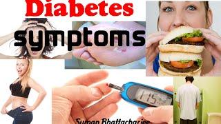 Type 2 diabetes symptoms in men and women | early diabetes signs